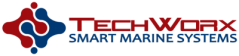 TechWorx smart marine systems logo