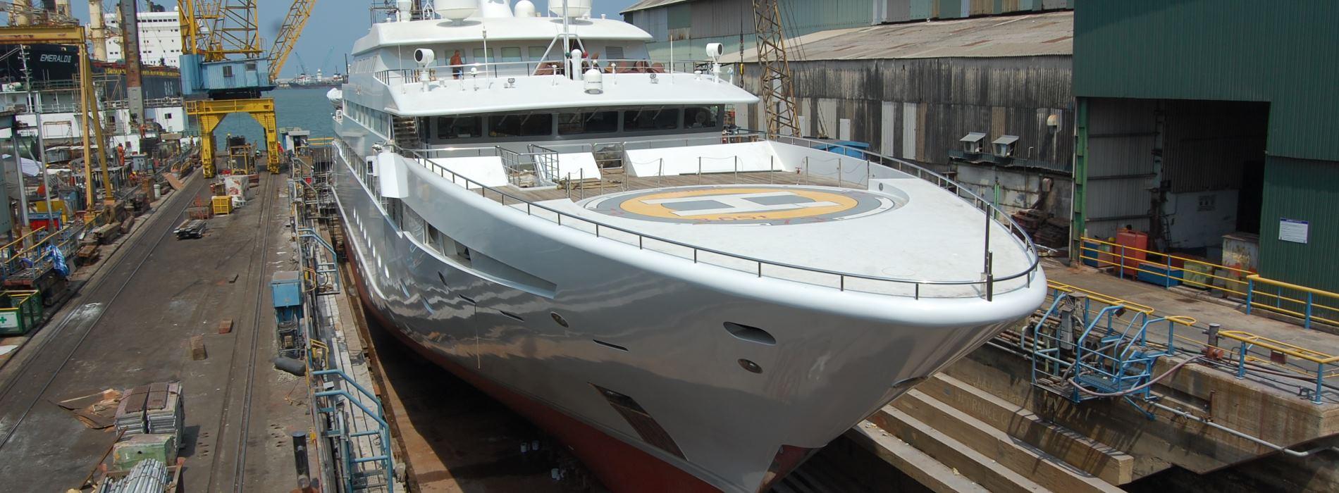 Eclipse Marine superyacht refit and repair